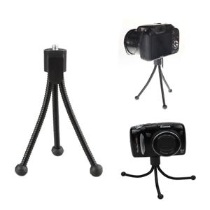 Para Cámara Canon DSLR SLR Mini Trípode Flexible Monopie Soporte de montaje para 1//4-20