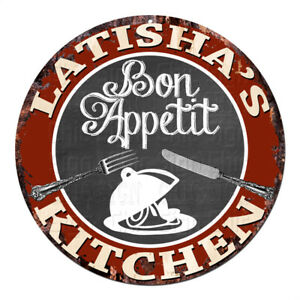 CPBK-0715-LATISHA-039-S-KITCHEN-Bon-Appetit-Chic-Tin-Sign-Decor-Gift-Ideas