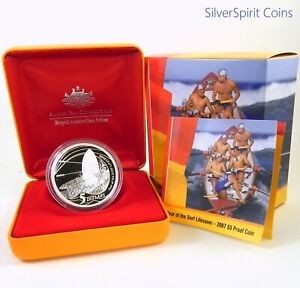 2007-SURF-LIFESAVER-1oz-Silver-Proof-Coin