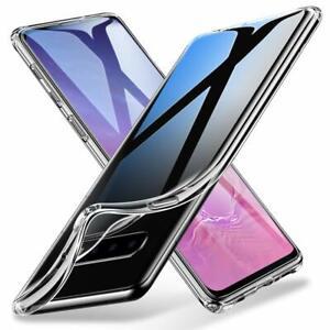 Samsung Galaxy S10 S10 Plus S10e 5g Clear Silicone Protective Slim Cover Case Ebay