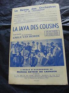 Partition-La-java-des-cousins-Emile-Van-Herck-Ecole-de-Mme-Astrid-de-Laender