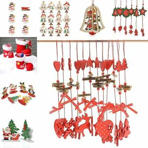 Holiday party xmas home decor decoration christmas tree string hanging ornament ebay - String ornaments christmas ...