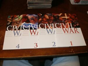 Civil-War-1-2-3-4-5-5-6-7-7-2006-07-near-mint-Marvel-comic-lot