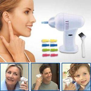 Electric-Cordless-Vacuum-Ear-Cleaner-Wax-Vac-Reinigung-Entferner-problemlose-Implementierung