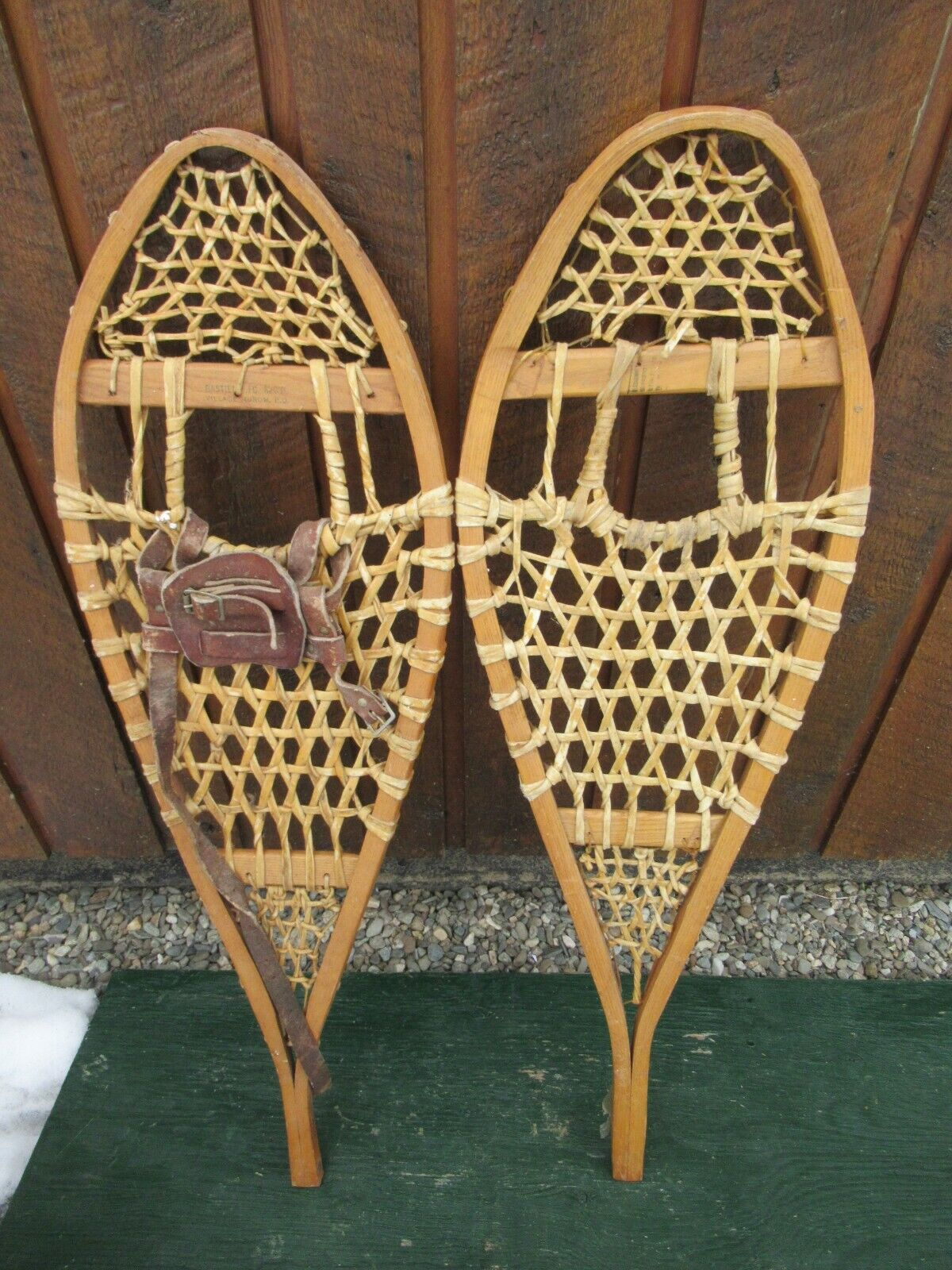 Snowshoes 35  Long Ready To Hang for Decoration Odd Set