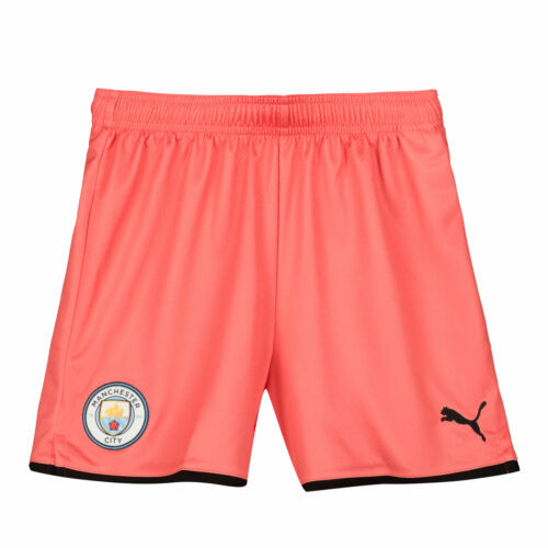 Puma Official Kids Manchester City FC Third Football Shorts Bottoms 2019-20