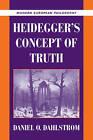 Heidegger's Concept of Truth by Daniel O. Dahlstrom (Paperback, 2009)