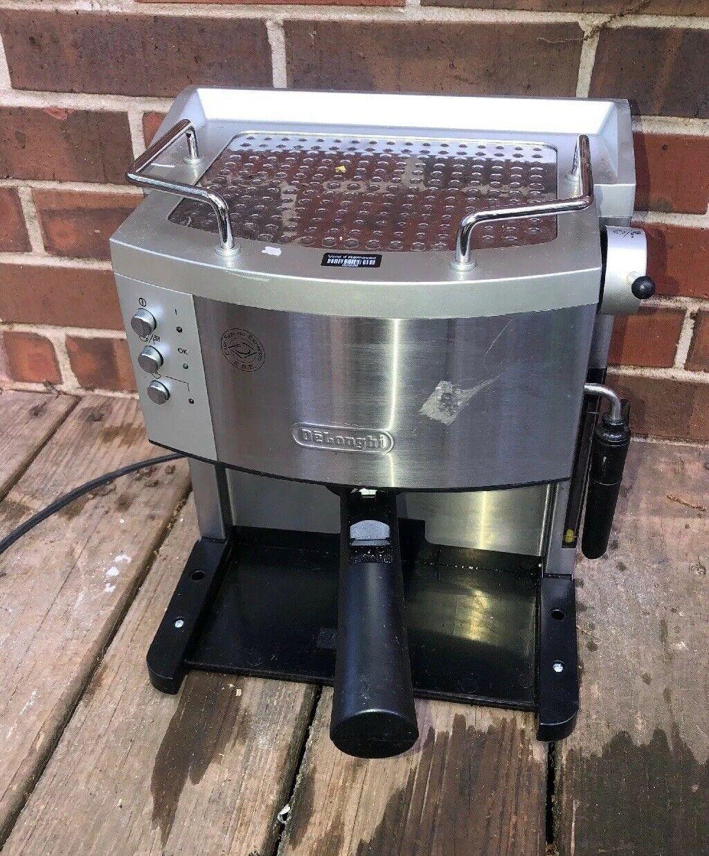 DeLonghi EC702 15 bar Pompe Moteur Espresso et Cappuccino Maker manquant Plateau D'égouttement
