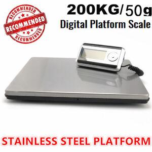 200KG-50G-DIGITAL-POSTAL-SHIPPING-SCALES-PARCEL-INDUSTRIAL-POSTAGE-PLATFORM
