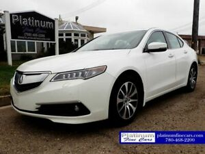 2017 Acura TLX SH-AWD w/Elite package