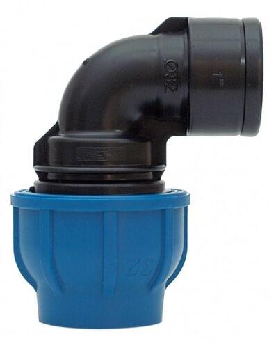 """PE-Rohr 90°-Winkel mit IG-Abzweigung 16 mm x 1//2/"""""""