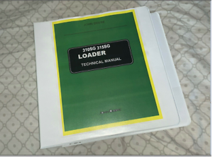 JOHN DEERE 310sg 315sg LOADER BACKHOE TRACTOR SERVICE REPAIR MANUAL BINDER