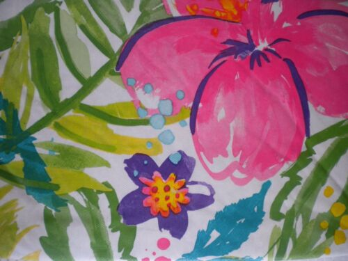 "New Summer Fun FLOWER THEME Vinyl Tablecloth  52/""x 70/"" /& 90/"" 60/"" Rnd 52/"" Square"