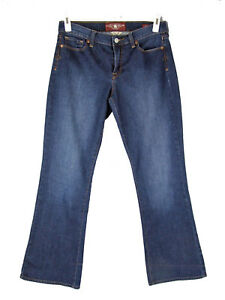 LUCKY-BRAND-Jeans-10-Stretch-Denim-Sofia-Boot-Cut-Mid-Rise-Medium-Wash-10-30