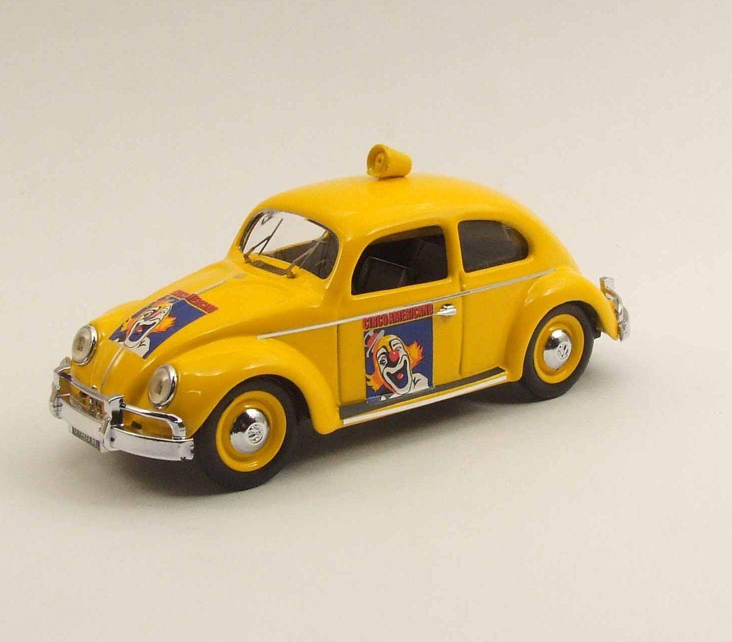 Volkswagen Maggiolino Circo Americano 1954 Rio 1 43 Rio4380 Modellino Diecast