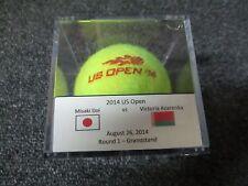 2014 US Open Victoria Azarenka Vs. Misaki Doi Round 1 Match Used Tennis Ball