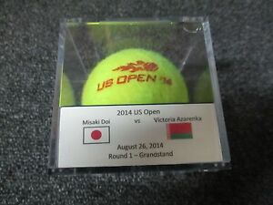 2014 US Open Victoria Azarenka Vs. Misaki Doi Round 1 Match Used Tennis Ball