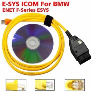 Ethernet To OBD Interface Cable E-SYS ICOM Coding For BMW F-series ENET 2M ESYS 4894510025082