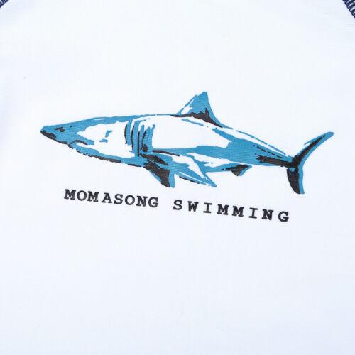 Rash Guard Beashwear Kids Boys Swimsuit Whale Shark Swimwear Bathing Suit UV 50