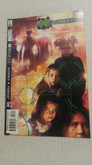 X Factor #3 September 2002 Marvel Comics Jensen Ranson