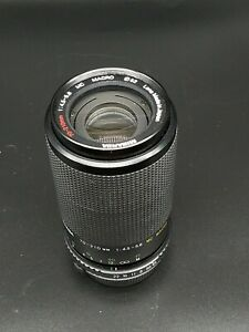 Miranda 70-210mm 1:45-5.6 MC MACRO lens for Olympus OM cameras made in Japan