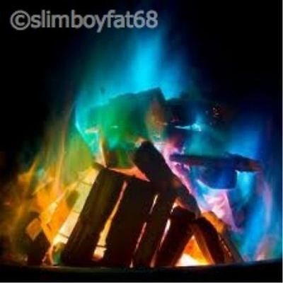 Mystical Fire - Magic Coloured Fire Flames For Fire Pit Patio Heater Log Burner