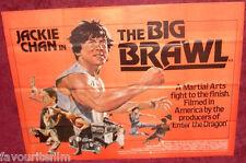 Cinema Poster: BIG BRAWL, THE 1980 (Quad) Jackie Chan José Ferrer