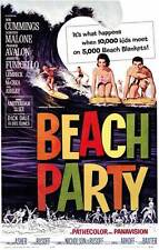 BEACH PARTY Movie Promo POSTER Frankie Avalon Annette Funicello Harvey Lembeck