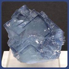 Cubic Fluorite Specimen Mined In Hunan China 67g