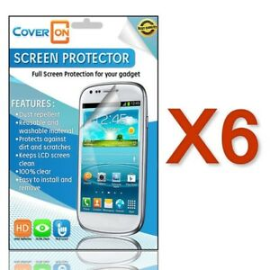 Lot-6-New-HD-Clear-Anti-Glare-Screen-Protector-Cover-for-Motorola-DROID-4-XT894