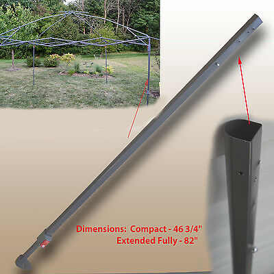 for Coleman 13 x 13 New Style Canopy EXTENDED ADJUSTABLE LEG Gazebo Parts |  eBay