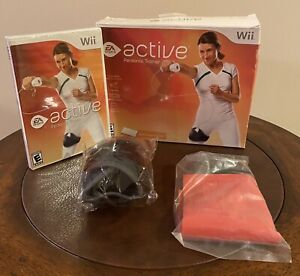 EA-Sports-Active-Personal-Trainer-Nintendo-Wii-Leg-Strap-Game-Resistance-Band