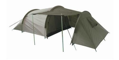 Three Man Olive Green Tent - 3 Person  Waterproof Double Walled Skinned Porch New  hottest new styles
