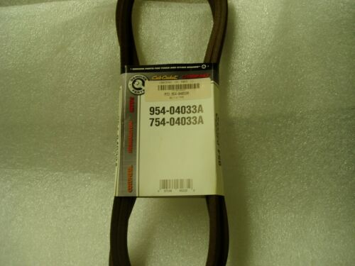 "CUB CADET AND MTD 954-04033  PTO DECK BELT FOR 42/"" ZTR OEM ORIGINAL TROYBILT"