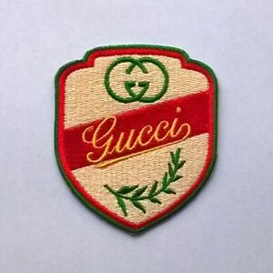 GUCCI-PATCH-Vintage-Iron-On-Brand-New-Very-Rare