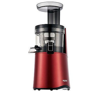 NEW Hurom H26 Alpha Cold Press Juicer: Wine Red