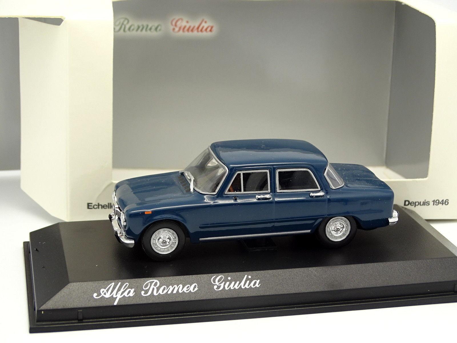 Norev 1 43 - Alfa Romeo Giulia Bleue