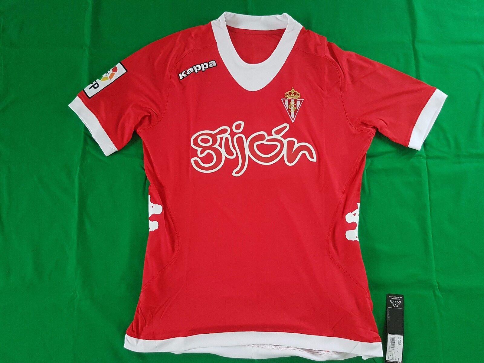 Sporting Gijon Trikot Away 2012 13 Kappa Größe M -NEU-