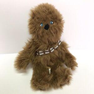 "Star Wars Chewbacca Plush Toy 15"" Tall Northwest 2016 Wookie Lucasfilm brown"