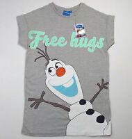 Disney Frozen Primark Damas Olaf Camiseta de manga corta GB 6,8, 10