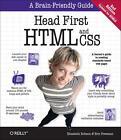Head First HTML and CSS von Eric Freeman und Elisabeth Robson (2012, Taschenbuch)