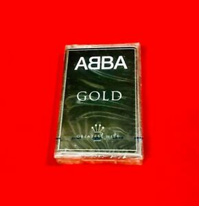 PHILIPPINES-ABBA-GOLD-GREATEST-HITS-SEALED-CASSETTE-TAPE-RARE
