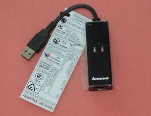Lenovo IBM USB 56K External Dial Up Data Fax Modem Windows 2000/XP/Vsita/7/8/10
