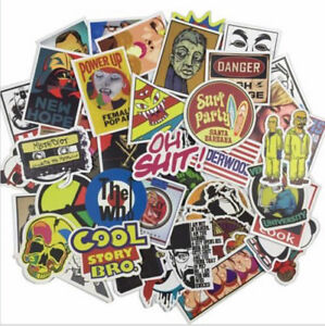 100X-Skateboard-Stickers-Graffiti-Laptop-Sticker-Luggage-Car-Decals-Mix-I9Z