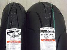 New Dunlop Q3 Sportmax Tire pair 180/55zr17 120/70zr17 120/70-17 180/55-17 Set