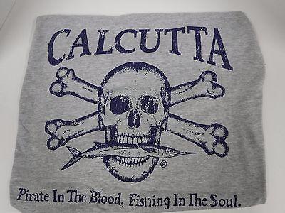 Flesh tone skull Logo XLarge NEW Authentic Calcutta T-Shirt