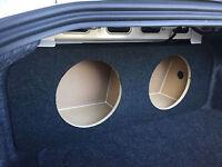 2015+ Mustang Sub Subwoofer Box Speaker Enclosure (2 12) - Concept Enclosures