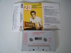 ELVIS-PRESLEY-20-GREATEST-HITS-VOL-1-CASSETTE-TAPE-RCA-UK-1981