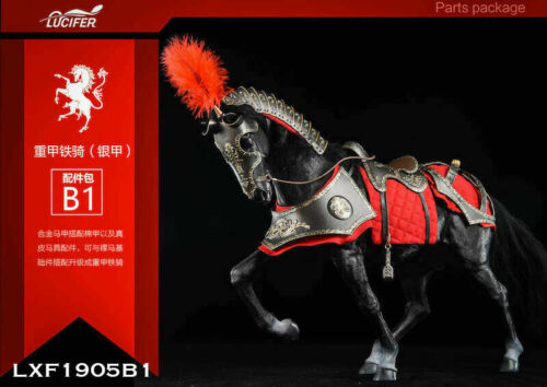 1//6 LUCIFER LXF1905 Metal Armour War Horse Animal Clothes Feathered Wings Set To