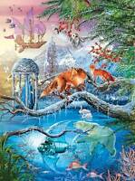 Lpf Holographic Jigsaw Puzzle Shangri-la Winter Ciro Marchetti 1000 Pcs 7350